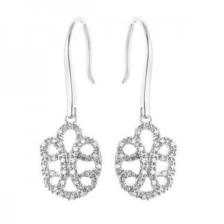 Boucles d'oreilles filigrane  en argent - Garatz