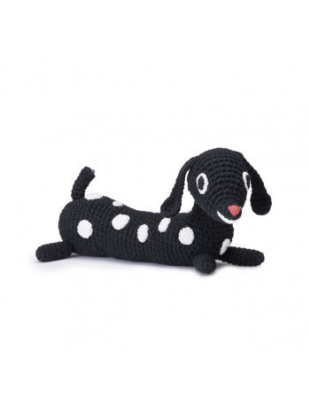 Littlephant Mobile musical soft toy puppy