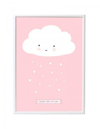 Affiche nuage a little lovely company