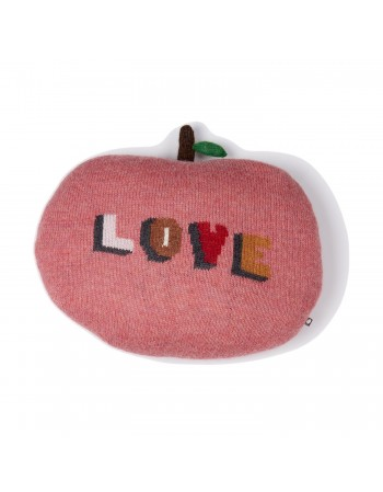 Coussin pomme Love Oeuf NYC