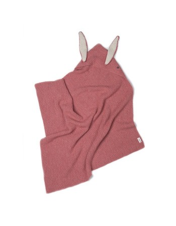 Couverture lapin rose Oeuf NYC